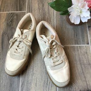 ZARA TRAFALUC Lace Up Sneakers